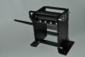 Tabakschneider WT100 0,8mm Schredder auf Kugellager manuell schwarz