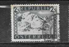 AUSTRIA  SC#497 1946 POSTALLY USED 2 SCHILLING SCENE TYPE DEFINITIVE STAMP