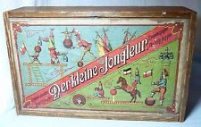 RARE CLOCKWORK TOY ORIGINAL WOODEN BOX DER KLEINE JONGLEUR LITTLE JUGGLER