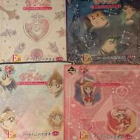 Sailor Moon Ichiban kuji Otome no Henshin Art Hand towel set of 4 Complete set