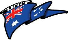 UNIT AUSSIE FLAG - DECAL 250mm x 150mm - DECAL