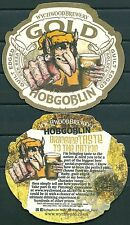 HOBGOBLIN BEER, BEERMAT / COASTER FROM U.K. NEW-UNUSED