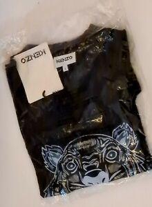 Black Kenzo Tiger Tshirt
