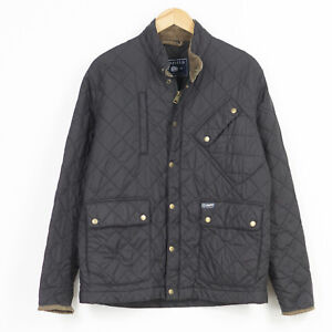 Penfield Quilted Jacket Black Breathable Casual Mens Size L