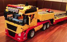 Bauanleitung instruction Truck LKW 8109 Eigenbau Unikat Moc Lego Technic