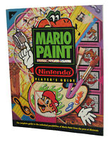 Nintendo SNES Mario Paint Players Strategy Guide Book