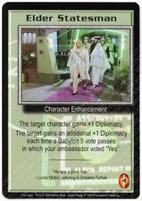 Babylon 5 CCG Psi-Corps Promo Card Elder Statesman Used Played
