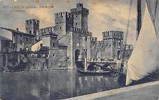 5577) LAGO DI GARDA SIRMIONE IL CASTELLO (BRESCIA) VIAGGIATA.