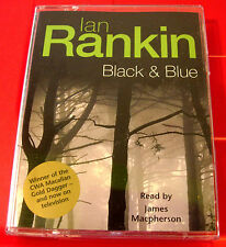 Ian Rankin Black And Blue Inspector John Rebus 2-Tape Audio James Macpherson