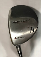 Adams Golf Tight Lies 2 STRONG 4 Fairway Wood Left Hand Refular Flex NEW GRIP