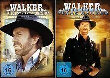 14 DVDs  * WALKER TEXAS RANGER - SEASON 1 + 2 IM SET   CHUCK NORRIS # NEU OVP +