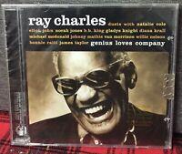 Ray Charles Genius Loves Company Duets CD Sigillato B B King Elton John Krall N