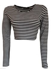 Long Sleeve No Striped Regular Tops & Shirts for Women