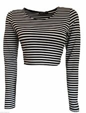 Unbranded Classic Singlepack Striped Tops & Shirts for Women