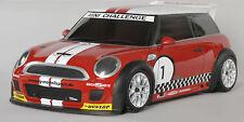 FG Modellsport 4WD 510E RTR Chassis Trophy rot Karosserie Mini Cooper #155179ER