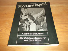 Book. Bernd Rosemeyer! Biography. Elly Rosemeyer. Auto Union. 1989. Free UK P&P