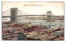 1921 Brooklyn Bridge, NY Postcard Richmond Stove Co. George Starrett Stoves