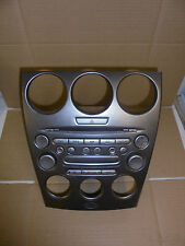 MAZDA 6 2003 STEREO/CD/RADIO PLAYER INCLUDING SILVER FASCIA TRIM (GJ6J66DSXD02)