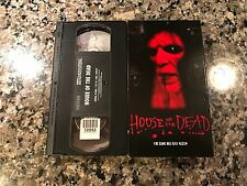 House Of The Dead Rare VHS! Artisan 3003 Deserted Island Terror! Clint Howard!