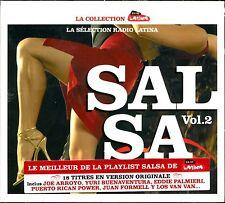 SALSA VOL.2 - RADIO LATINA - CD COMPILATION NEUF ET SOUS CELLO