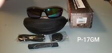 Wiley X P-17 GM Polarized Emerald Mirror Amber/Gloss Black Sunglasses