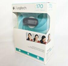 New Logitech C170 5MP USB VGA Webcam Camera Sealed Box Microphone Video