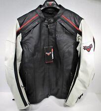 Womens Ladies X-Large Victory Motorcycle Black Leather Vest