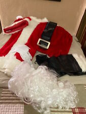 SANTA CLAUS SUIT , COMPLETE WITH ALL ACCESSORIES
