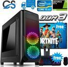 Gaming Pc Computer Bundle Intel Quad Core I5 8gb 1tb Windows 10 4gb Gtx 1650