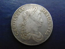 More details for charles ii silver crown 1663 xv edge s.3354