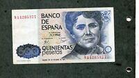 BILLETE  500 pesetas 1979 serie 9A 9 A 4205377  EBC