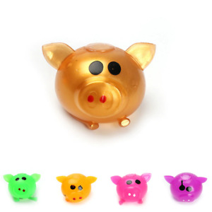 Anti Decompression Splat Toy Squishy Pig Splat Ball Anti Stress Venting Toys