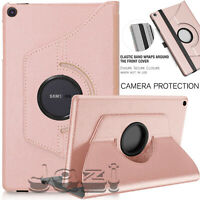 "For Samsung Galaxy Tab A 10.1"" (2019) Leather Protective 360 Rotate Case Cover"