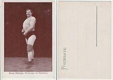 Württemberg Kraftsport Meister Ringer Oettinger Wrestler male semi nude c.1920