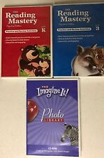3 SRA CD-ROMs Reading Mastery Practice & Review for Grade K & 3, & Photo Library
