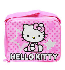 Sanrio Hello Kitty Star Lunch Bag Insulated Lunchbox, Kids Girls Pink, New
