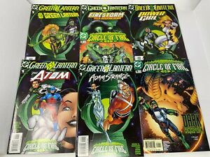 Green Lantern Circle Of Fire Comic Lot #1 #1 #1 #1 #1 #1 #2