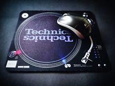 MOUSEPAD ALFOMBRILLA PC TAPIS DE SOURIS Technics SL 1210 Turntable DJ VINYL MK2
