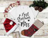 Last Christmas as a Miss Shirt Christmas Engagment T-Shirt