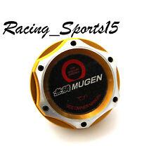 JDM MUGEN HONDA /ACURA GOLD BILLET ENGINE OIL CAP CIVIC ACCORD S2000 FIT INTEGRA