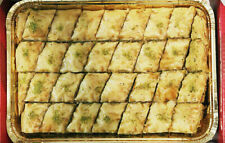 Baklava Pistachio - Half tray Made by Professional Chef in USA - FREE Shipping