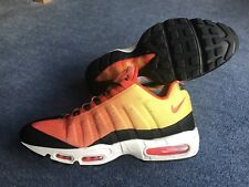 Men's Nike Air Max 95 Sunset Pack Trainers Orange / Yellow U.K. Size 11.5