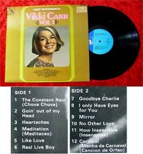 LP Vikki Carr Great dall'interpretazione vol 1