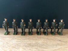 Britains: Part Set, British Airborne Infantry In Khaki. Post War c1950s