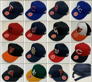 Youth Baseball Hat Cap Adjustable MLB OC Sports Teams OSFM S/M BRAND NEW
