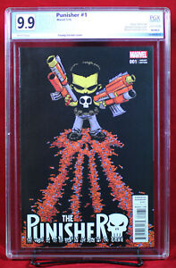 PUNISHER #1 PGX 9.9 MINT Skottie Young Variant - One of a kind - Stunning +CGC!!