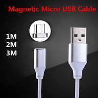 1M-3M Micro USB TPE Charging Cable Magnetic Adapter Data Charger For Samsung Lot