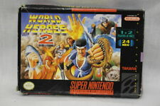 World Heroes 2 Video Game Super Nintendo ES , 1993 Takara