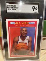 Kobe Bryant Fleer All-Star Game #127 '88-'89 Design SGC 9 MINT/New Slab! HOF