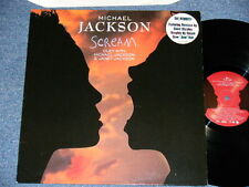 "MICHAEL JACKSON JANET EUROPE 1995 NM 12"" SCREAM  Ship from Japan"